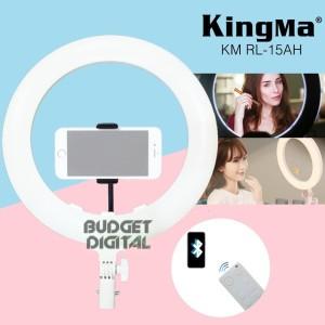 Harga led ring light kingma 15 inch support bluetooth remote connect | HARGALOKA.COM