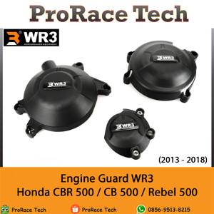 Harga cover engine engine guard wr3 honda cbr 500 cb 500f rebel | HARGALOKA.COM