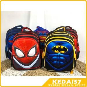 Harga new ransel 3d anak ransel keren superhero import terbaik   | HARGALOKA.COM