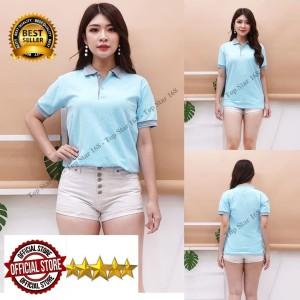 Harga baju kaos kerah polo shirt pria dan wanita kaos polo baju polo   | HARGALOKA.COM