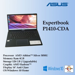 Harga asus p1410cda amd athlon 3050u  4gb 128gb ssd amd | HARGALOKA.COM