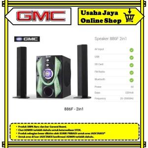 Harga gmc speaker 886f 2 in 1 soundbar | HARGALOKA.COM