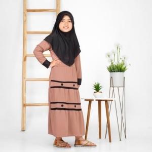 Harga baju gamis anak perempuan busana muslim terbaru murah | HARGALOKA.COM