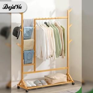 Harga dejavu gantungan baju celana hanger stand kayu minimalis hsh201   kayu rak | HARGALOKA.COM