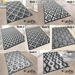 Harga carpet shop id karpet sofia 100x150 monochrome designs   kode | HARGALOKA.COM