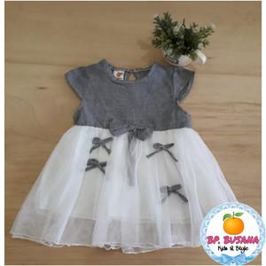 Harga dress anak premium l bahan cotton dan brukat yg lembut dan halus pt   pita 4 | HARGALOKA.COM