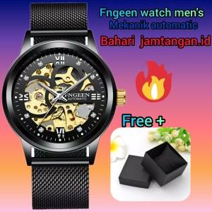 Harga fngeen jam tangan mekanik automatic   mesh   HARGALOKA.COM