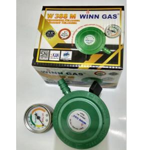 Harga regulator winn gas w 388 manometer terbaik untuk tabung lpg | HARGALOKA.COM
