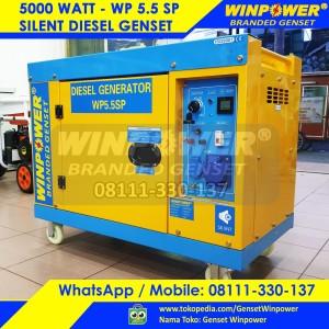 Harga diesel genset generator winpower 5000 watt silent electric wp7500 | HARGALOKA.COM