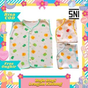 Harga baju bayi tanpa lengan kutung merk shankusen sni halus lembut   HARGALOKA.COM