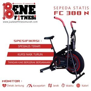 Harga sepeda statis alat fitnes fc 388n terapi dokter olahraga platinum | HARGALOKA.COM