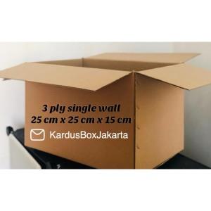 Katalog Kardus Box Kardus Packing 13 5x10x6 Cm Termurah Polos Katalog.or.id
