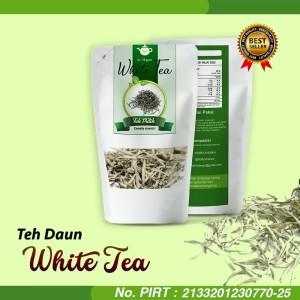 Harga white tea teh putih alami detoxifikasi 100 halal | HARGALOKA.COM