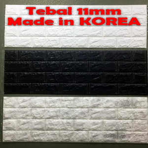 Harga Wallpaper 3d Bata Brick Foam Abu Tua Katalog.or.id