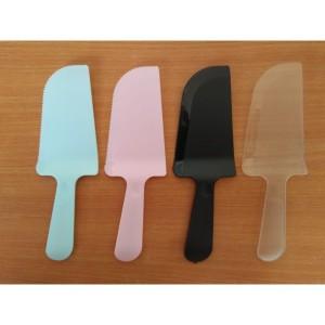 Harga murah pisau plastik kue cake potong bening knife ulang tahun | HARGALOKA.COM