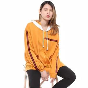 Harga jaket hoodie lengan panjang wanita cewek | HARGALOKA.COM