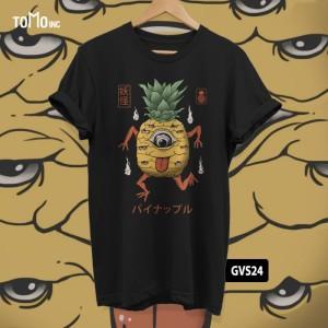 Harga kaos yokai pineapple tomoinc geek vol 6 t shirt dtg big size   | HARGALOKA.COM