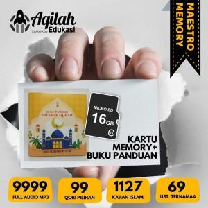 Harga memory speaker quran 16 gb 30 juz full 9999 content buku panduan   | HARGALOKA.COM