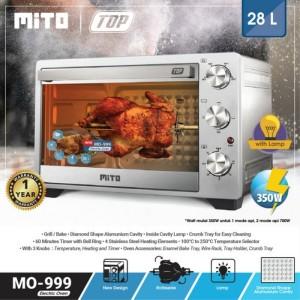 Harga oven mito mo 999 top new kapasitas 28 | HARGALOKA.COM