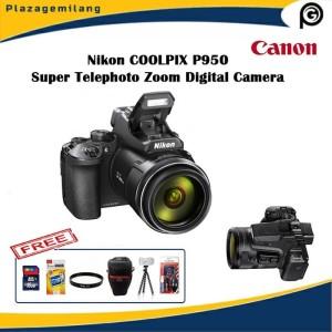 Harga nikon coolpix p950 super telephoto zoom digital camera free | HARGALOKA.COM