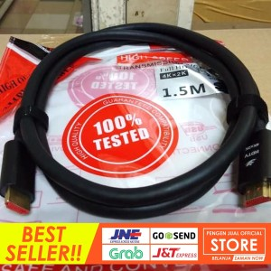 Harga kabel hdmi to hdmi for audio video tv amp komputer 1 5m eyota | HARGALOKA.COM