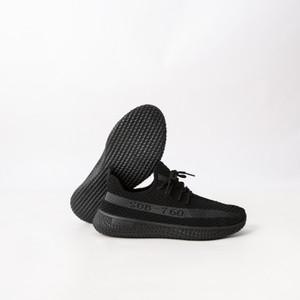 Harga sepatu sneakers pria sepatu running import murah berkualitas bos760   hitam | HARGALOKA.COM