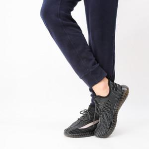 Harga sepatu sneakers pria sepatu running import murah berkualitas   hitam | HARGALOKA.COM