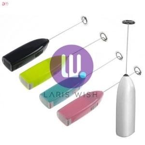 Harga lariswish mixer mini elektrik hand mixer pengocok telur pengaduk kopi   | HARGALOKA.COM