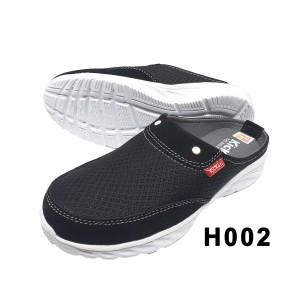 Harga sepatu sandal selop pria kickers hitam 002   hitam | HARGALOKA.COM
