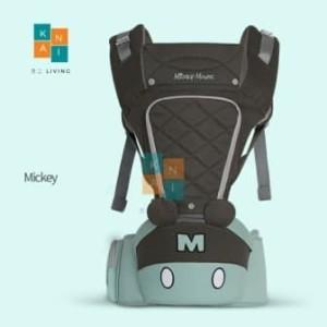 Harga gendongan bayi hipseat hip seat baby carrier original disney ear | HARGALOKA.COM