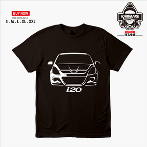 Harga kaos baju mobil hyundai i20 kaos otomotif   | HARGALOKA.COM