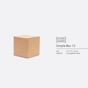 Harga simple square box   boks kardus kotak mug gelas hampers 12x12x12 | HARGALOKA.COM