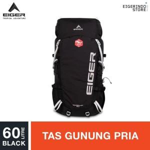 Harga eiger wanderlust 60 1a rucksack   black | HARGALOKA.COM