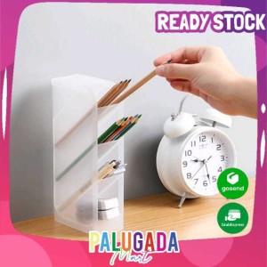 Harga kotak transparan multifungsi holder pensil | HARGALOKA.COM