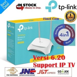 Harga router wireless merk tp link tl wr840n 300 | HARGALOKA.COM