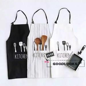 Harga celemek dapur chef apron masak pelindung baju anti kotor clemek koki | HARGALOKA.COM