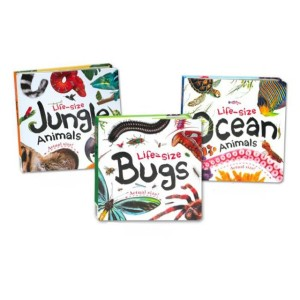 Harga encyclopedia life size jungle bugs ocean animals board book   | HARGALOKA.COM