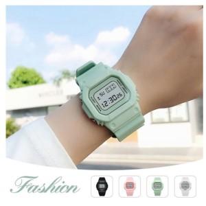 Harga jam tangan wanita digital water resistant korean style sport watch     HARGALOKA.COM