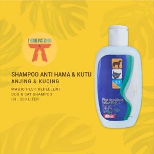 Harga shampoo anjing kucing magic pest repellent 200 ml   pembasmi | HARGALOKA.COM