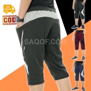 Harga celana pendek pria sepeda gowes padding busa dibawah lutut raiden   | HARGALOKA.COM
