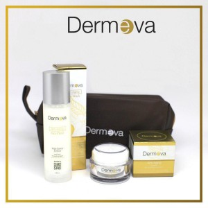 Harga dermeva cream anti aging amp face wash anti penuaan resmi | HARGALOKA.COM
