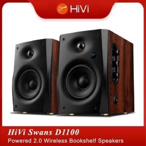 Harga hivi swans d1100 powered 2 0 wireless bookshelf | HARGALOKA.COM