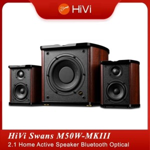 Harga swans hivi m50wmkiii 2 1 home active speaker bluetooth optical | HARGALOKA.COM