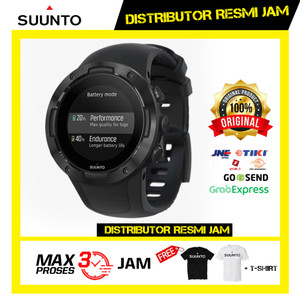 Harga jam tangan suunto 5 all black ss050299000   all | HARGALOKA.COM