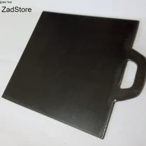 Harga wajan plat besi cor 45x45 untuk kebab roti sosis | HARGALOKA.COM