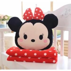 Harga balmut minnie boneka bantal selimut tsum lembut boneka anak | HARGALOKA.COM