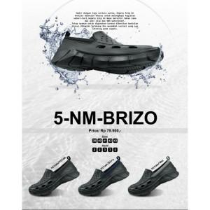 Harga sepatu ardiles slip on karet pria brizo anti air   ht biru   HARGALOKA.COM