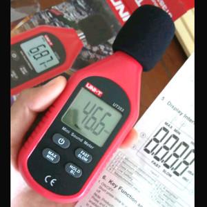 Harga uni t ut353 mini digital sound level meter 30 130db | HARGALOKA.COM