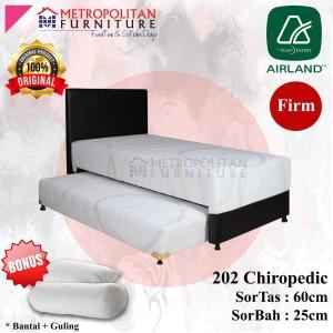 Harga springbed airland 2in1 202 chiropedic full set kasur spring bed matras   90 x | HARGALOKA.COM