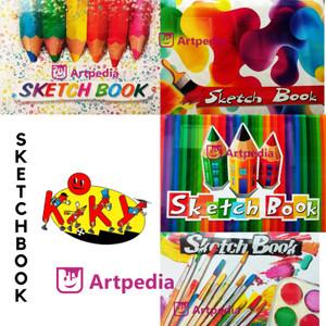 Info Kiky Sketch Book A5 Buku Gambar Sketsa Ukuran A5 Katalog.or.id